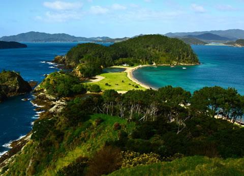 Gアドベンチャーズ ニュージーランド マップ