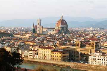 フィレンツェ全景