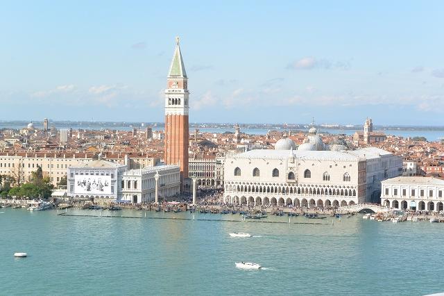 ヴェネツィア/サン・ジョルジョ・マッジョーレ島からの景色